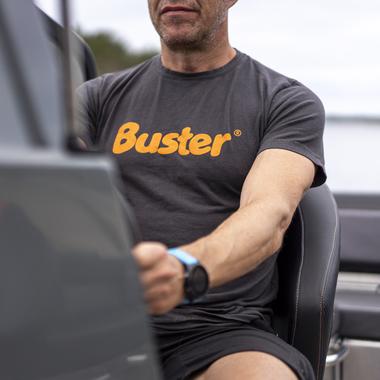 Buster t-paita, harmaa